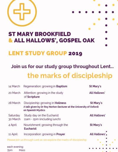 Lent Study Group 2019